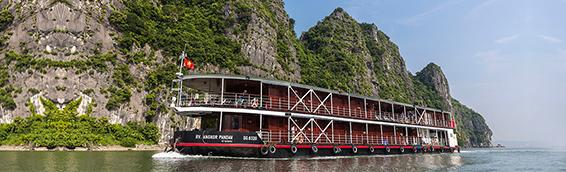 Halong Bay and Red River, Halong Bay - Viet Tri
